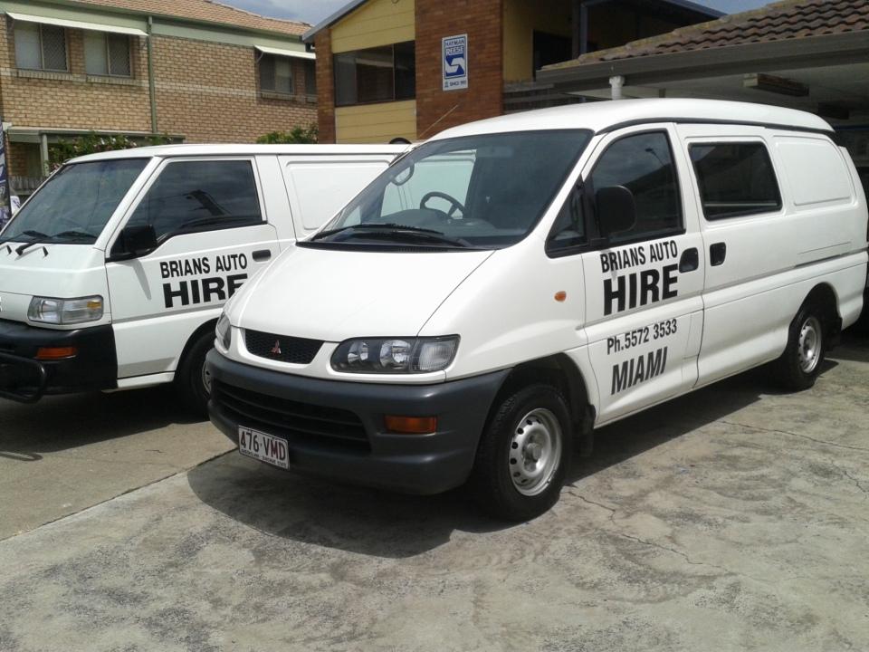 hire vans Brians Auto Hire
