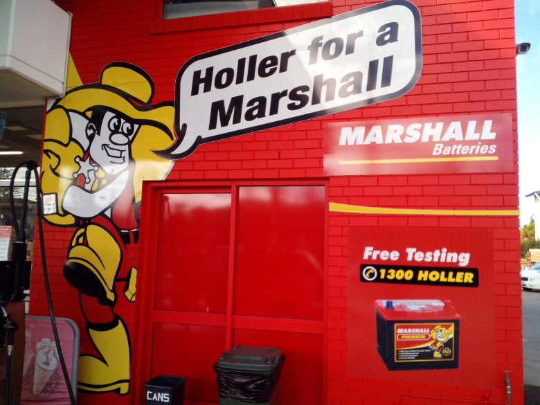 Marshall car battery