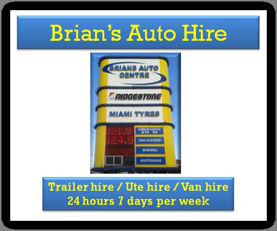 Brians auto hire