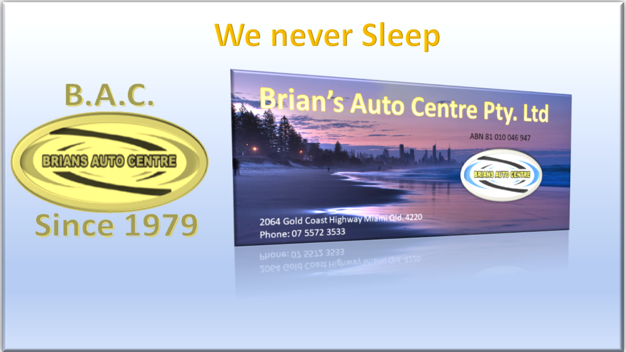 Brian's Auto Centre – Miami Gold Coast Qld.